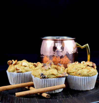 Harvest Oat Muffins