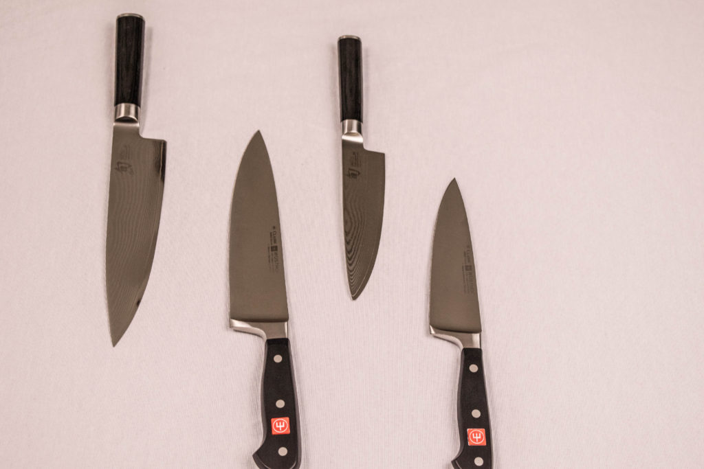Knife Review: Shun and Wusthof - Deliciously Plated