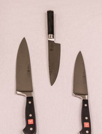 Wustof and Shun Classic Chef knives
