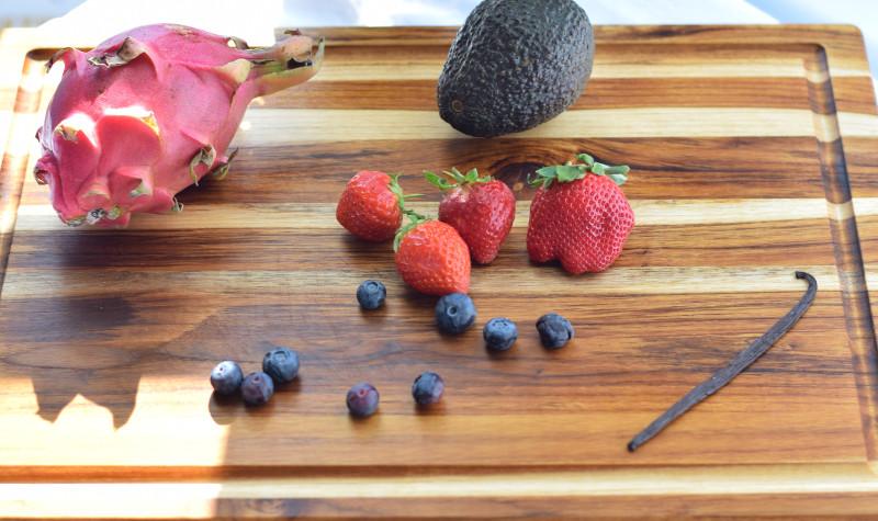 dragon fruit smoothie ingredients
