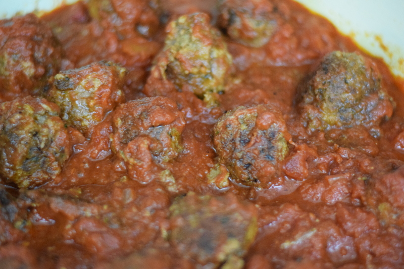 meatballs in marinara sauce for meatball submarine recipe