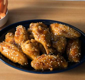 Wings Meet Homemade Teriyaki Sauce
