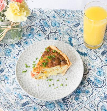 Savory Breakfast Quiche