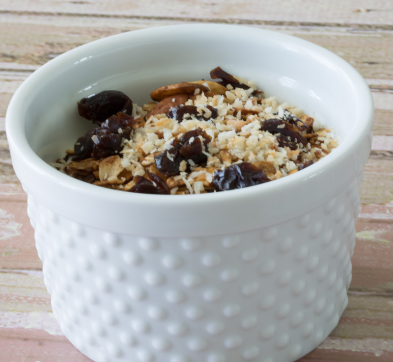 bowl of yogurt with granola