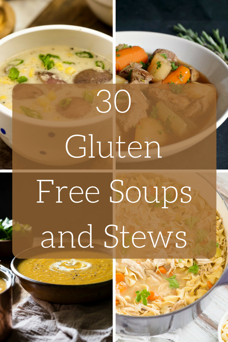 gluten free soups and stews