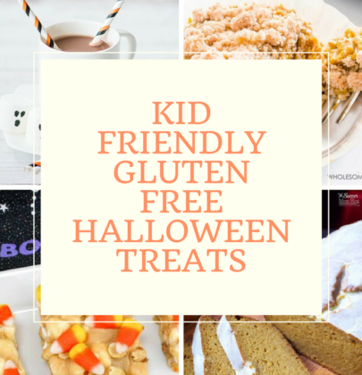 Kid Friendly Gluten Free Halloween Treats