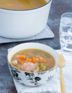 gluten free homemade chicken soup