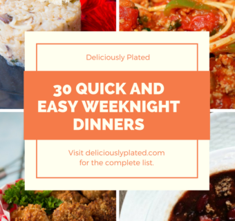 Quick and Easy Gluten Free Weeknight Meals