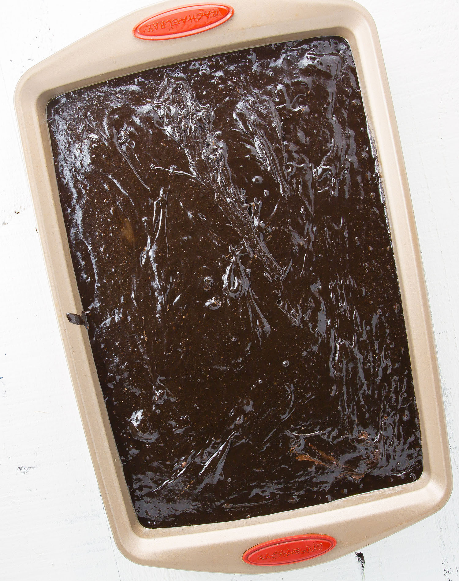 Peppermint Pattie Brownie Batter #glutenfree #recipes #brownierecipe