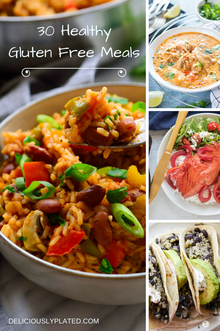 Healthy Gluten Free Meals for Dinner - Deliciously Plated