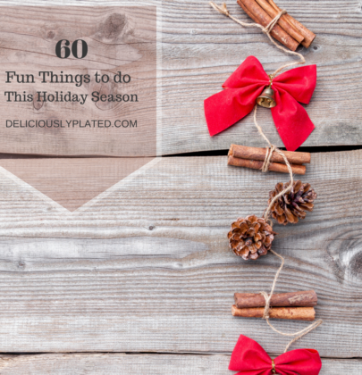 60 Fun Things to do This Holiday Season!