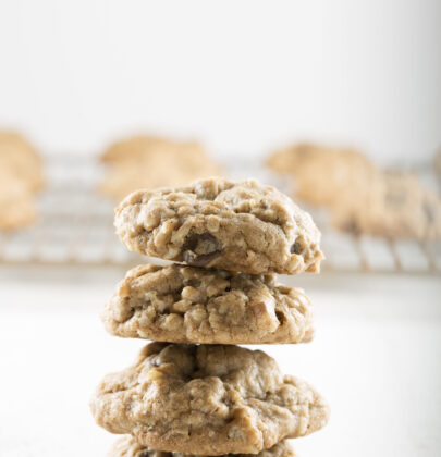 Spiced Oatmeal Chocolate Chip Cookie Recipe