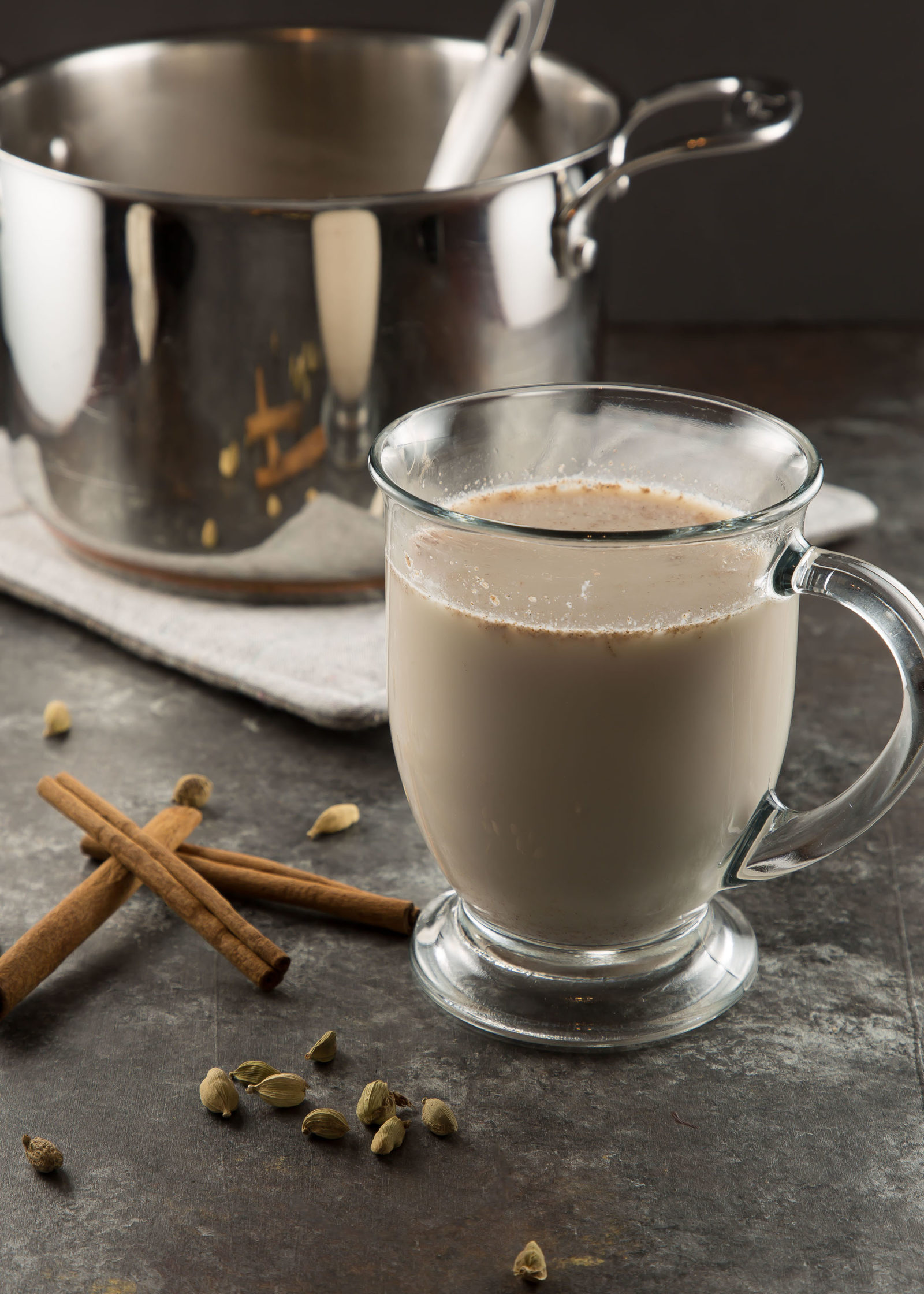 Spiced Amond Milk in a mug
