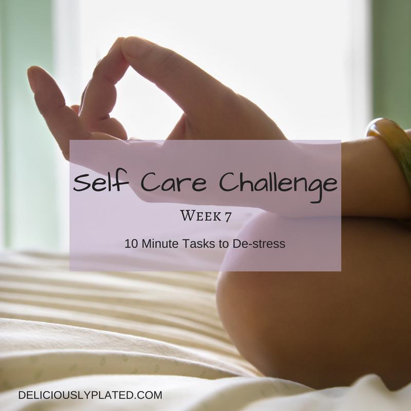 10 minute tasks to de-stress