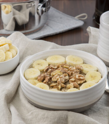 Banana Nut Oatmeal Recipe