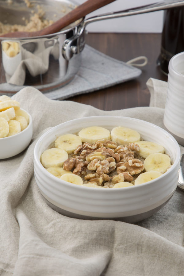 Banana Nut Oatmeal