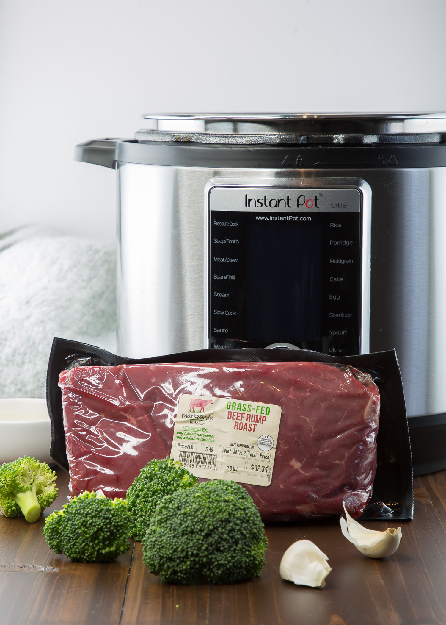 beef and broccoli bowl ingredients and instant pot