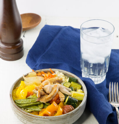 Sheet Pan Roasted Chicken and Veggies