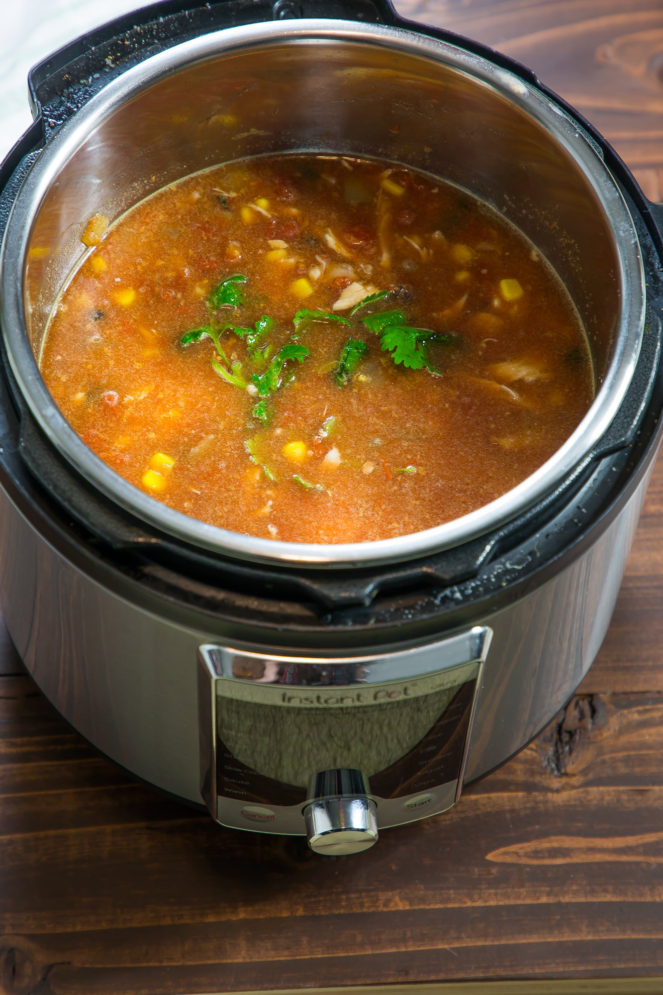 The best Taco soup in an instant pot