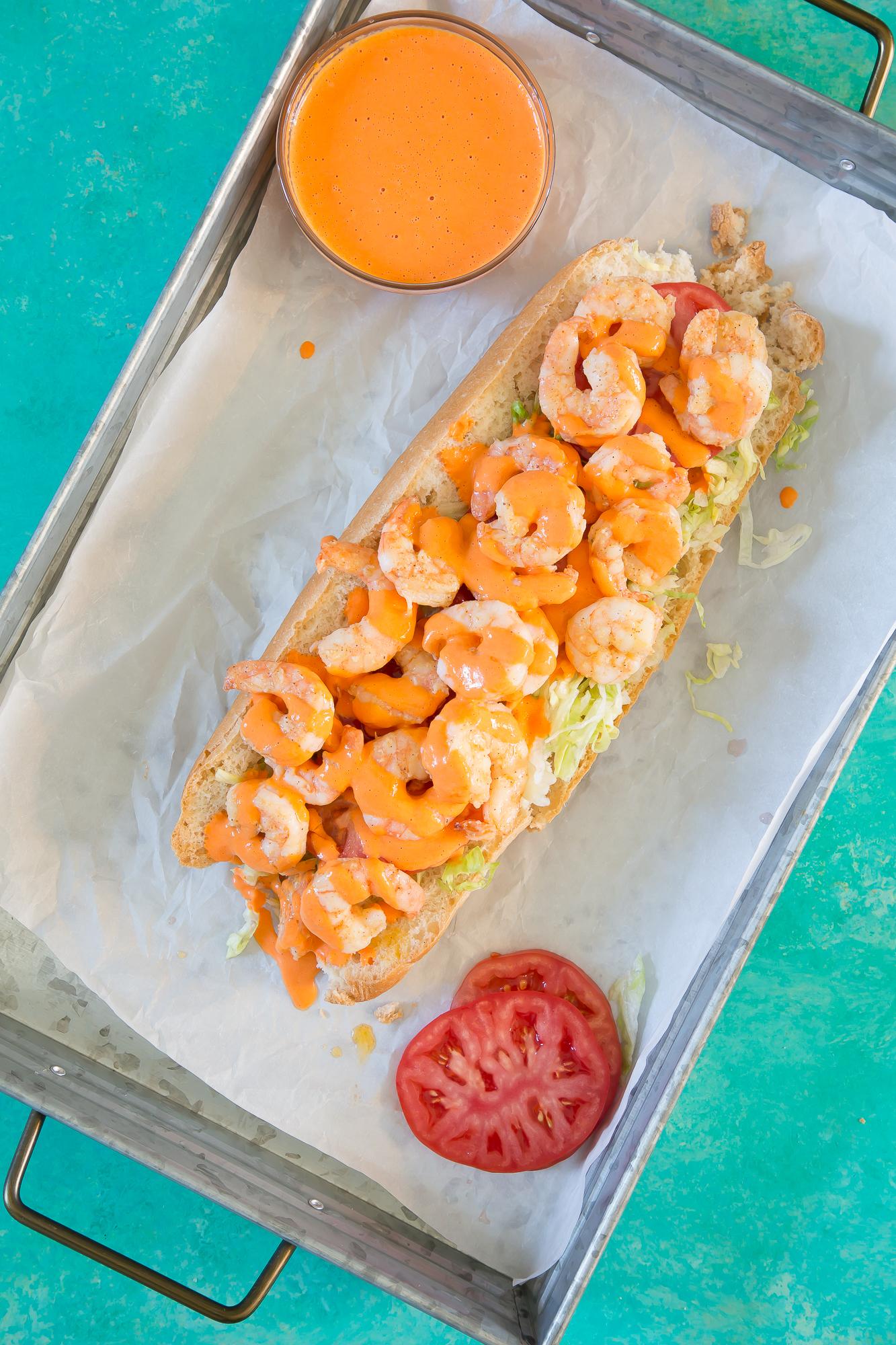 Shrimp Po'Boy Sandwich: A delicious 30 minute meal
