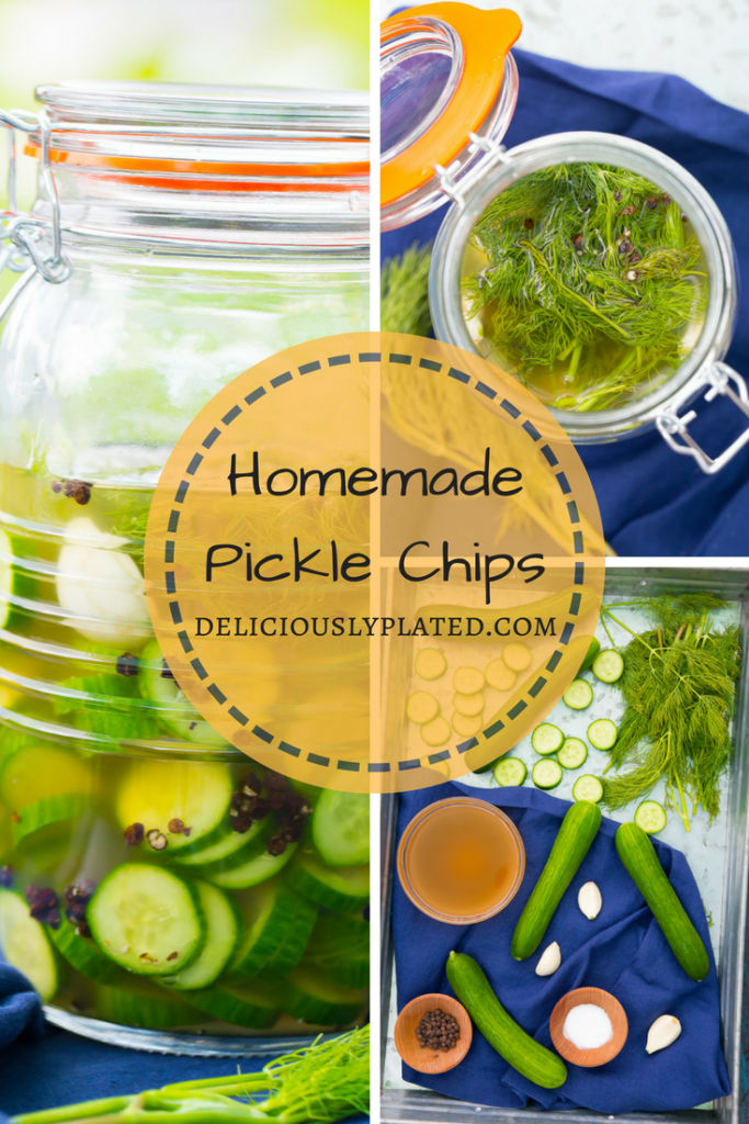 delicious homemade pickle chips