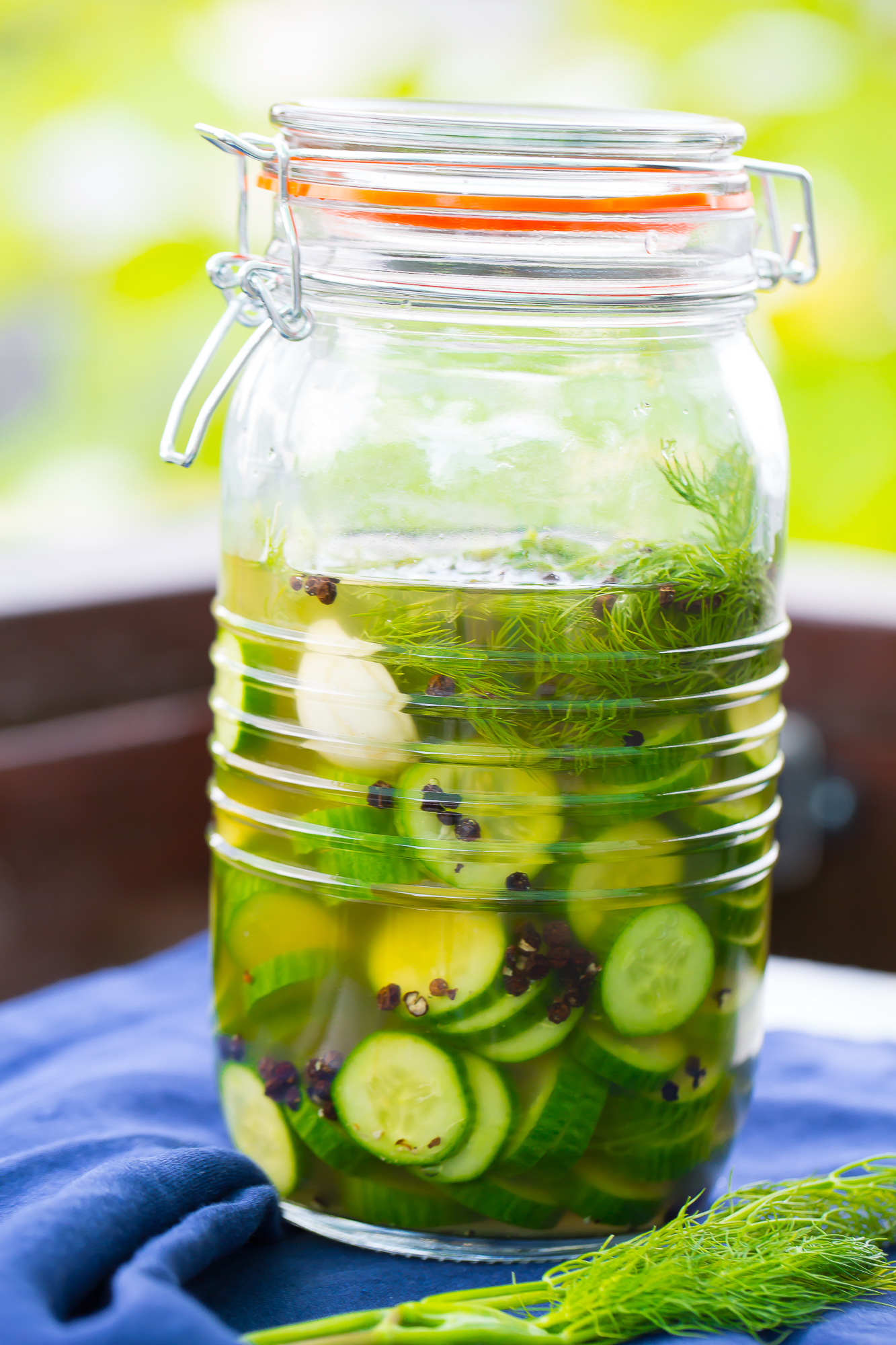 Simple Homemade Pickle Chips