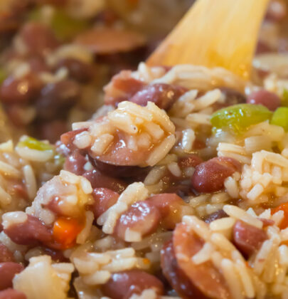 Red Beans and Rice to Feed A Crowd