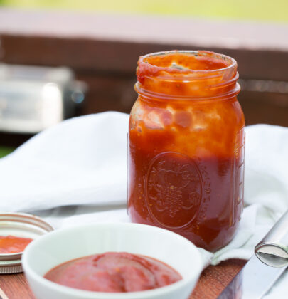 Easy Sweet and Spicy BBQ Sauce