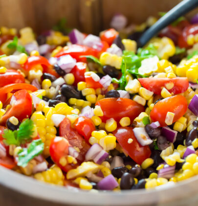 A Fresh And Delicious Grilled Corn Salad Perfect For Your Summer Cookouts