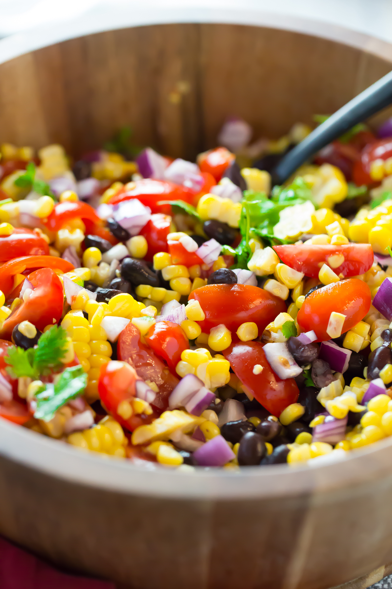 Summertime Grilled Corn Salad