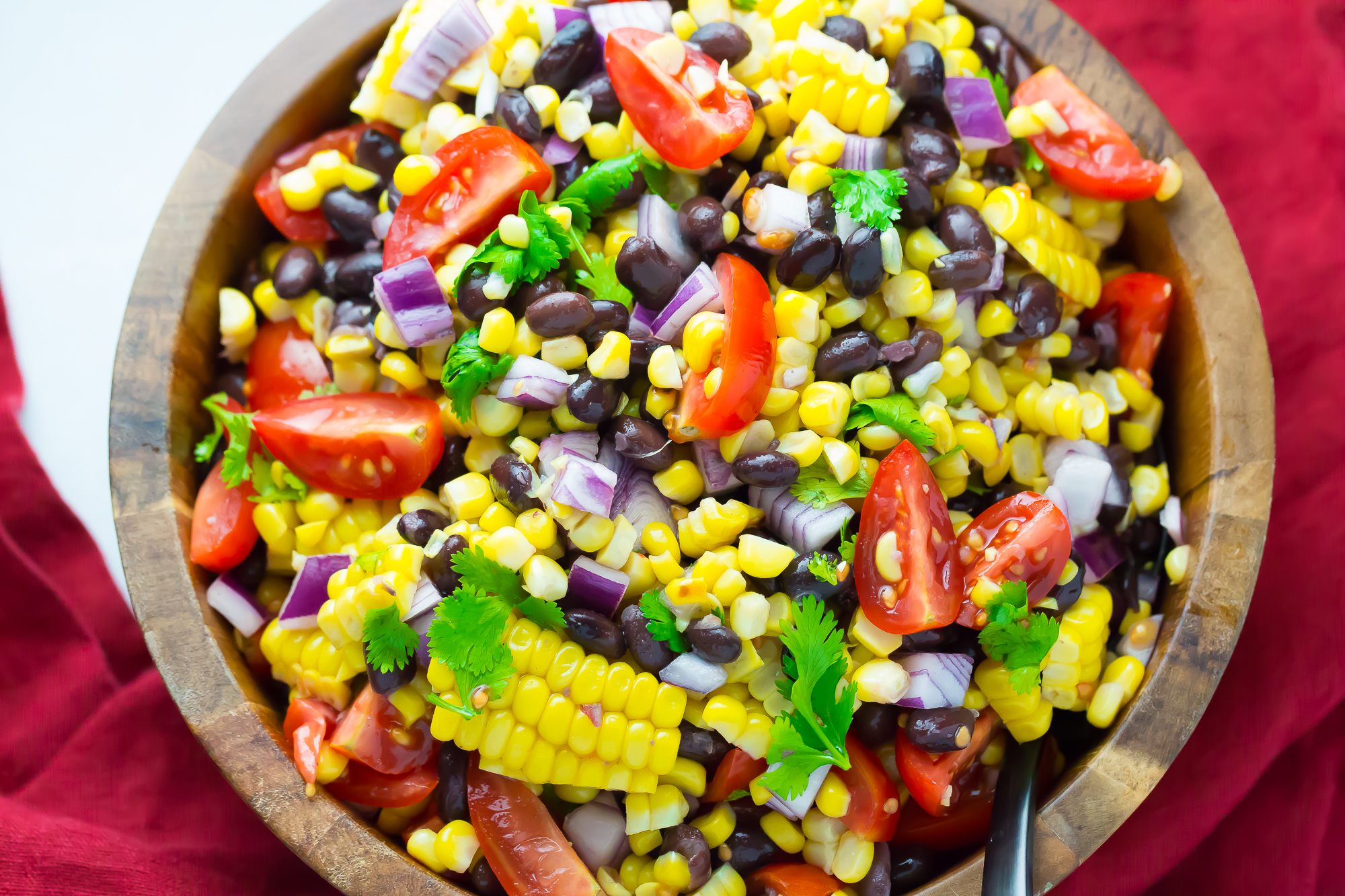 A Fresh And Delicious Grilled Corn Salad Perfect For Your