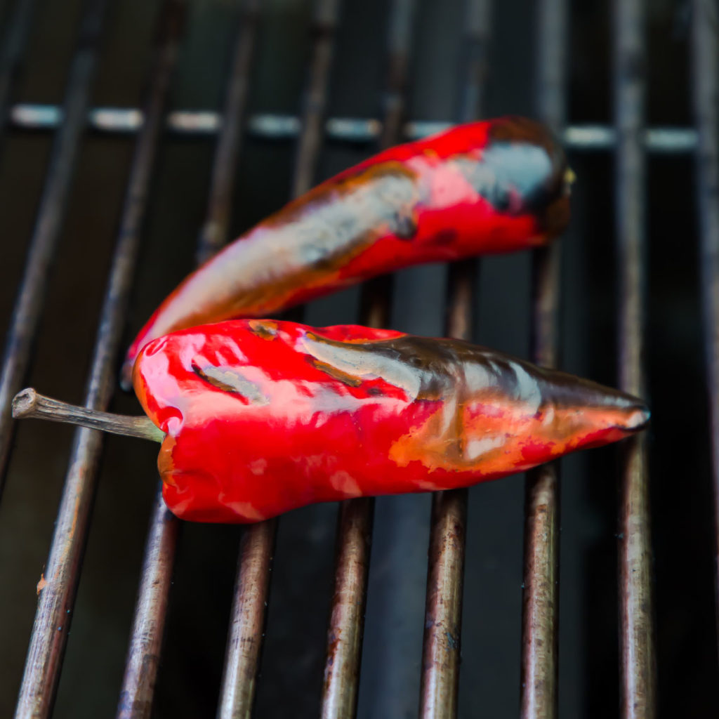 grilled fresno pepper