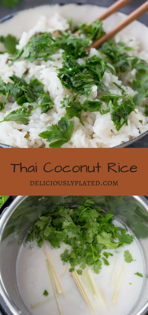 simple That Coconut Rice recipe