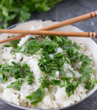 Easy Thai Coconut Rice in the Instant Pot