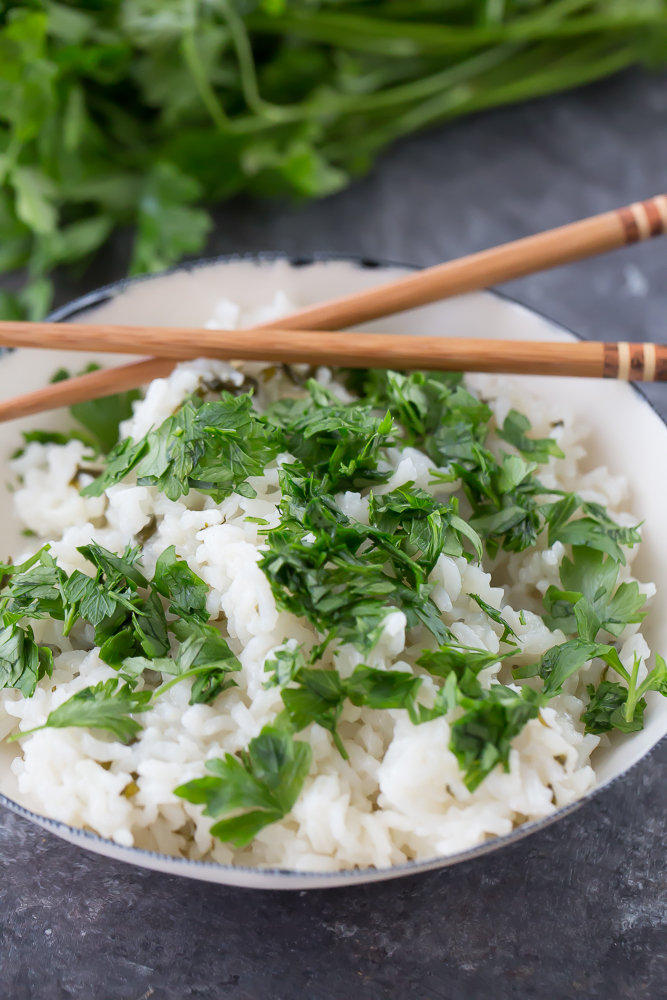 easy thai coconut rice