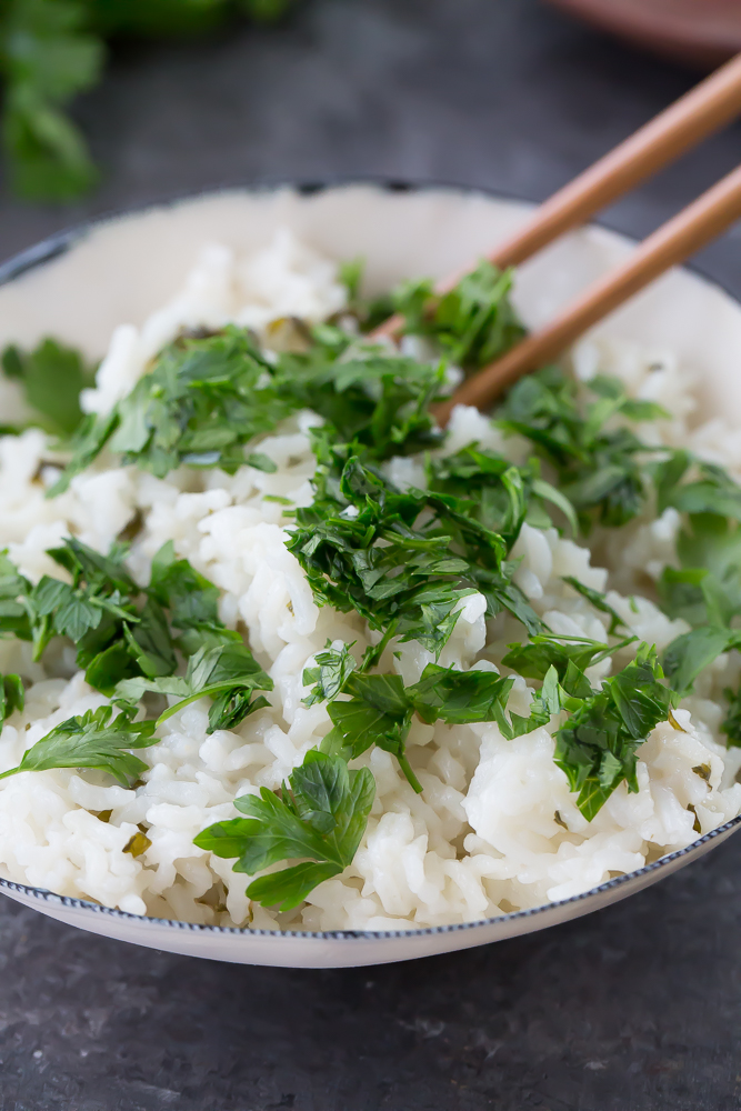 simple thai coconut rice recipe