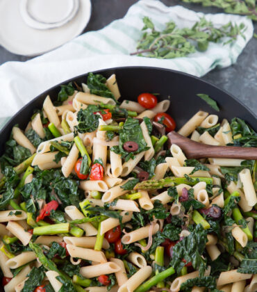 Veggie Penne Pasta: Perfect For Meal Prepping Or A Lite Dinner