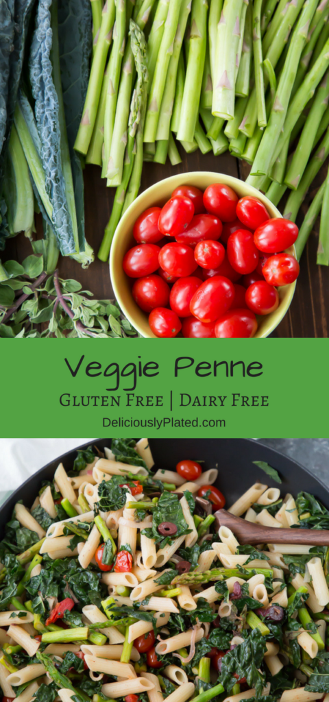 Quick and Easy Veggie Penne Pasta