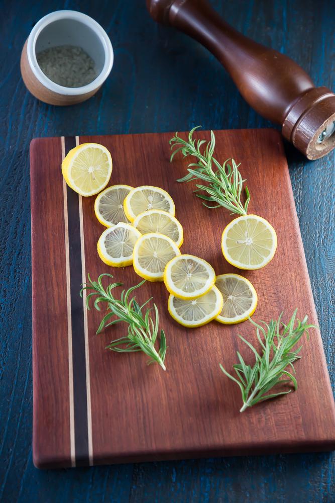Fresh Lemon and Rosemary