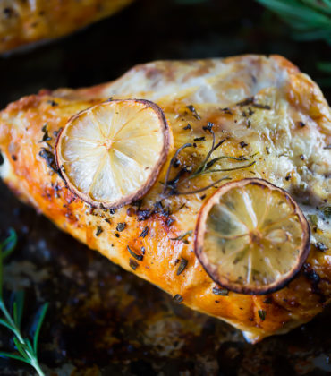 A Baked Lemon Rosemary Chicken Recipe You Are Going To Love