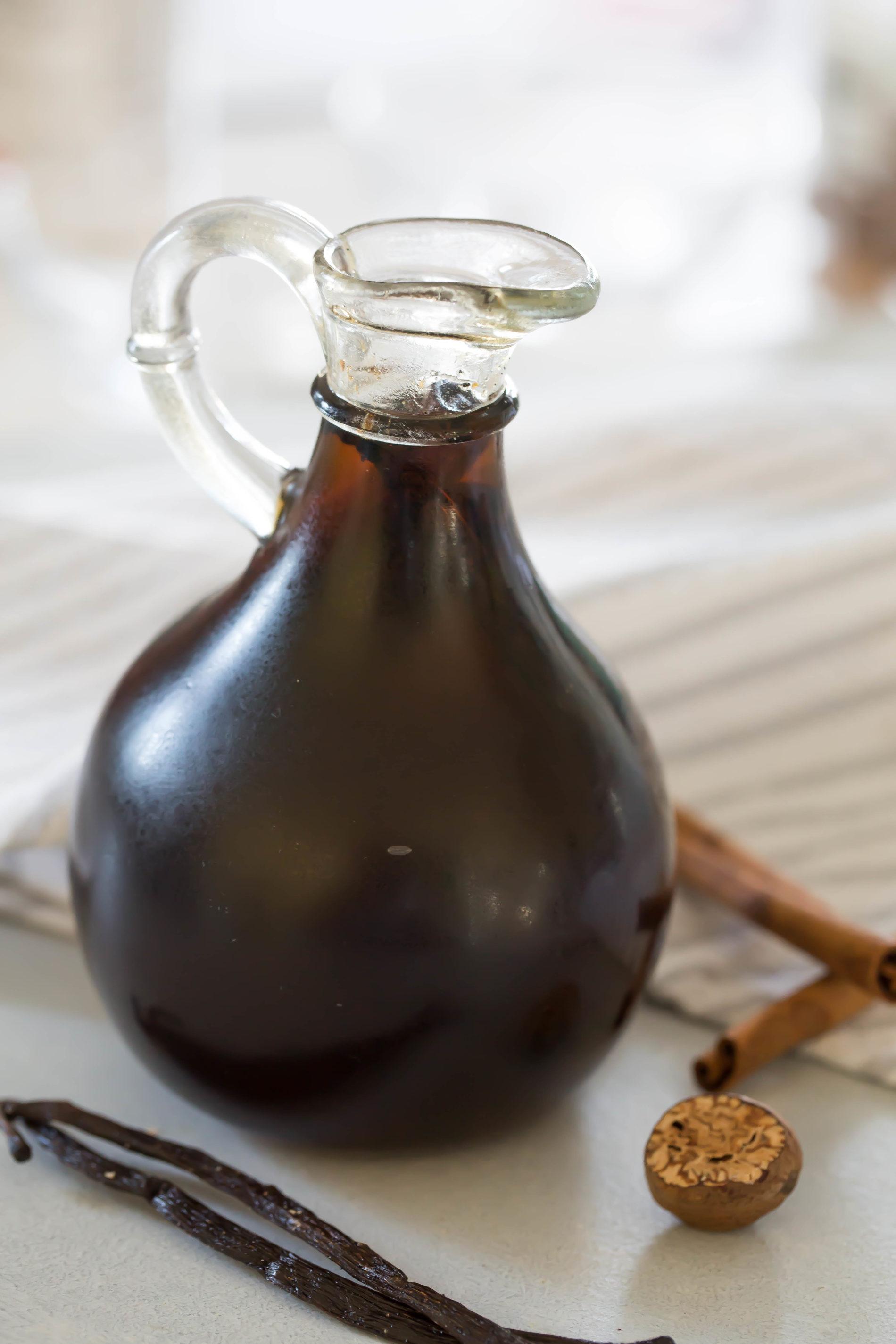Spiced Vanilla Syrup