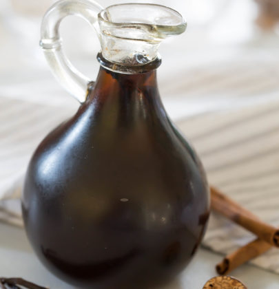 Spiced Vanilla Syrup Perfect For Your Coffee, Pancakes, Or Both!