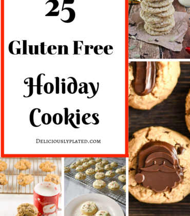 25 Gluten Free Holiday Cookies