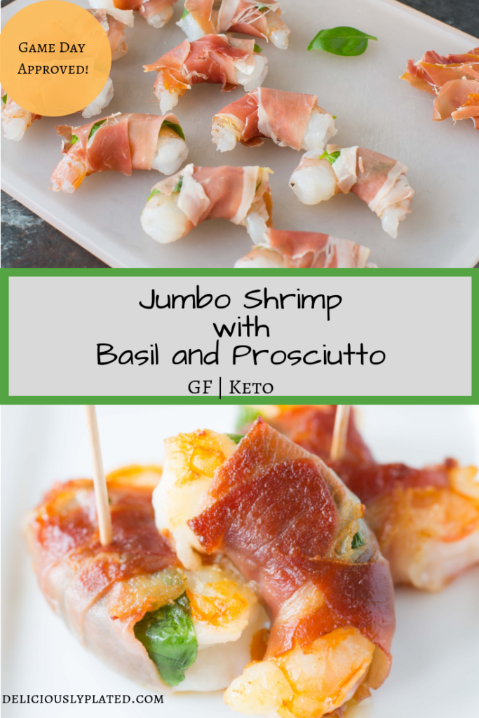 Jumbo shrimp Appetizer perfect for game day