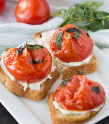 Broiled Tomatoes with Fresh Oregano