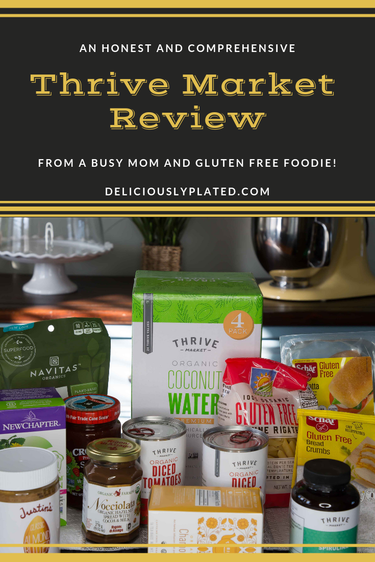Thrive Market Review from Deliciouslyplated.com