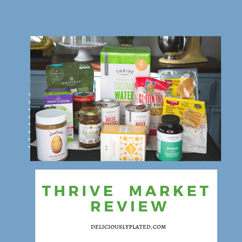 My Honest and Comprehensive Thrive Market Review - Deliciously Plated